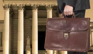 court briefcase